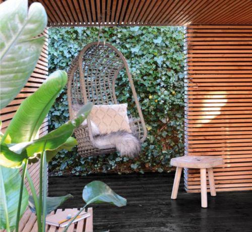 Fotele wisz�ce na zewn�trz