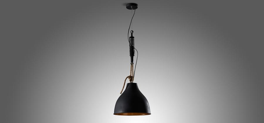 LAMPA NICOLO BLACK