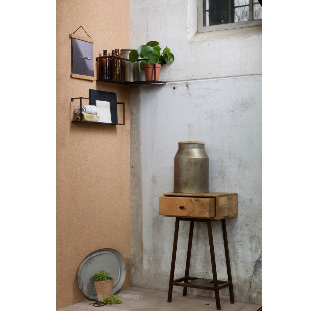 Półka ścienna Narożna Meert Woood Design Concept Salon