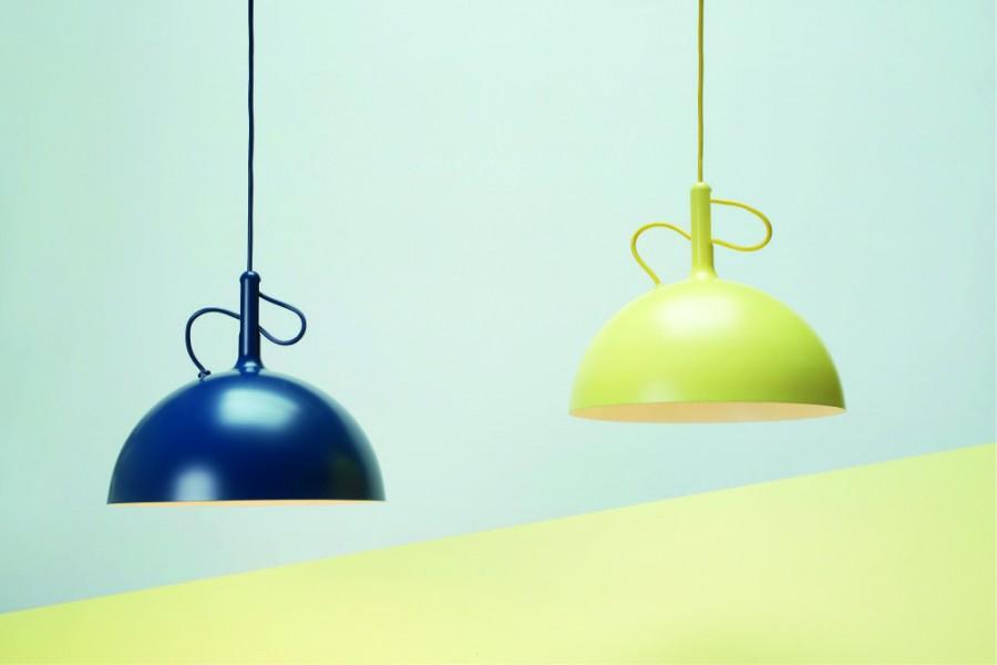LAMPA WISZĄCA ADJUSTABLE MAŁA ŻÓŁTA WATT A LAMP