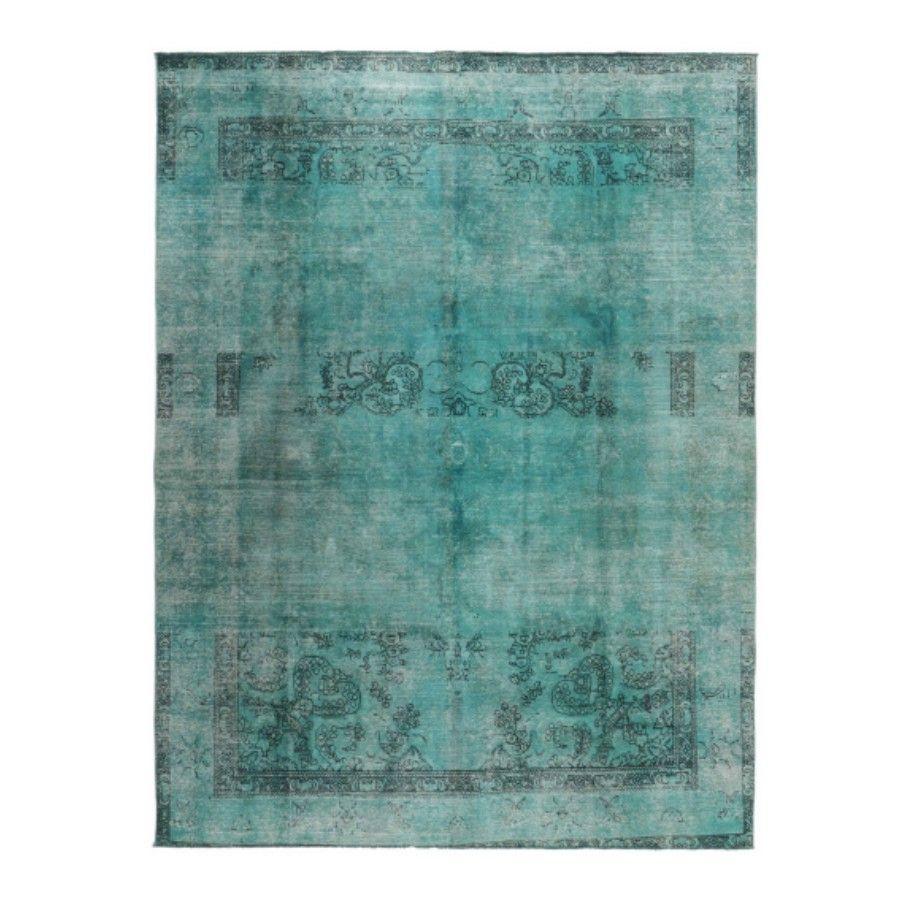 Dywan Perski Ręcznie Tkany Wełniany Emerald King Louis De