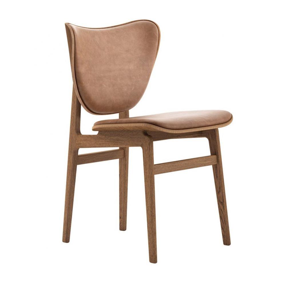 Krzesło Elephant przydymiony dąb camel NORR 11