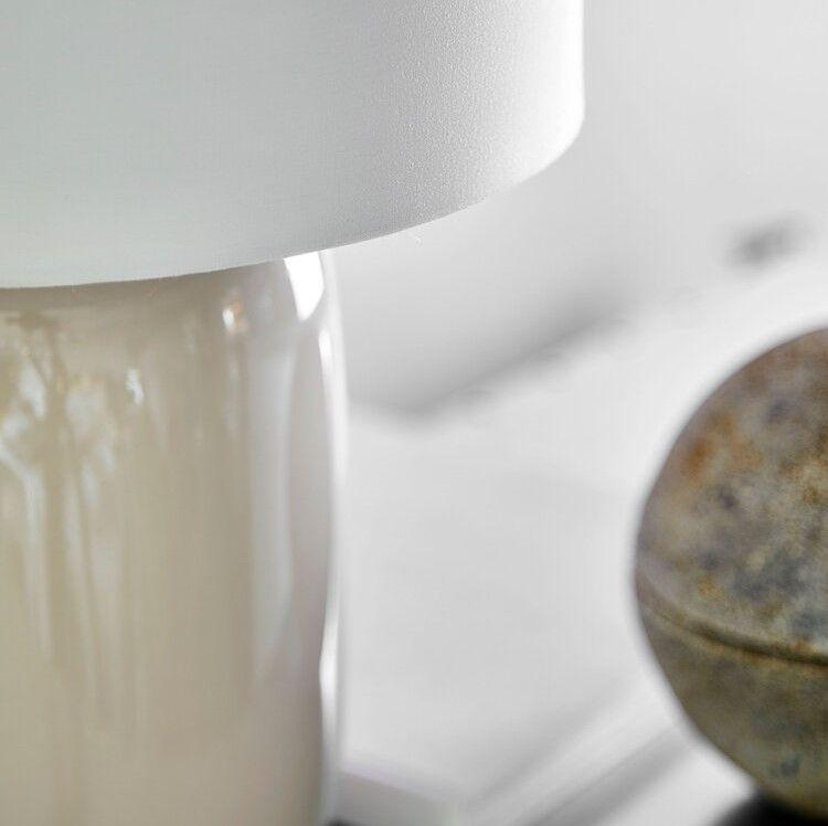 LAMPA STOŁOWA CADIZ BEŻOWA FRANDSEN