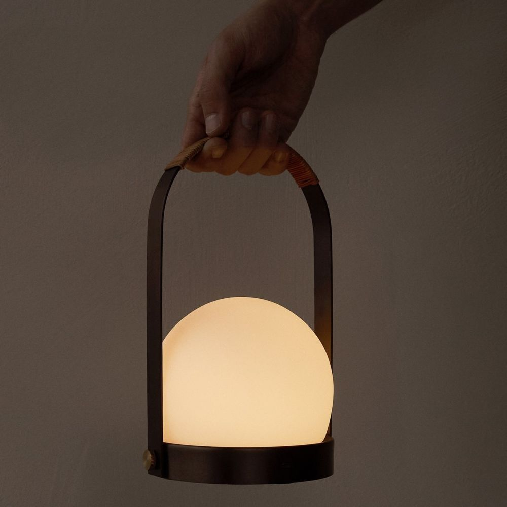 LAMPA STOŁOWA CARRIE LED BIAŁA MENU