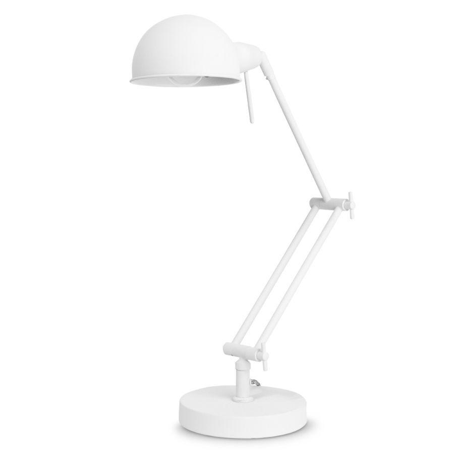 LAMPA STOŁOWA GLASGOW BIAŁA ITS ABOUT ROMI