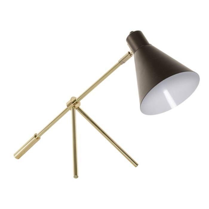LAMPA STO£OWA METAL BR¡ZOWA BLOOMINGVILLE