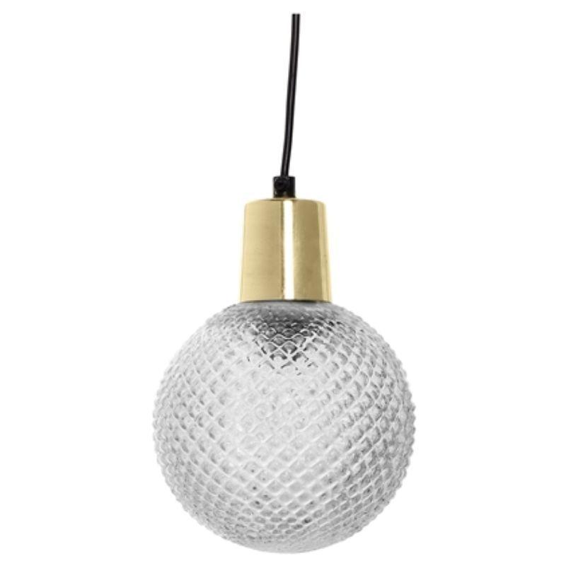 LAMPA WISZ¡CA CLEAR GLASS 14X19 CM BLOOMINGVILLE