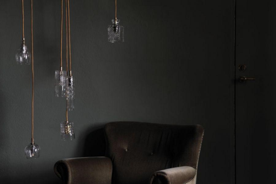 LAMPA WISZĄCA CRYSTAL EDGAR SILVER EBB&FLOW