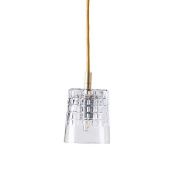 LAMPA WISZĄCA CRYSTAL EDGAR GOLD EBB&FLOW