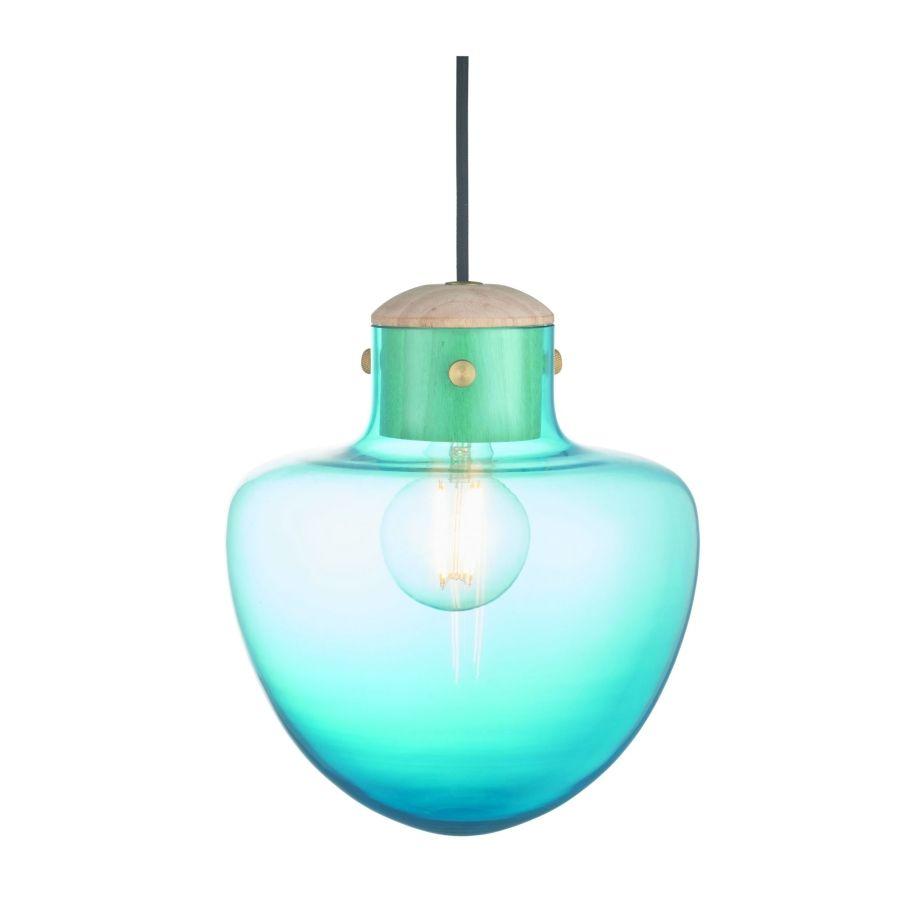 LAMPA WISZĄCA MUSH NIEBIESKA WATT A LAMP