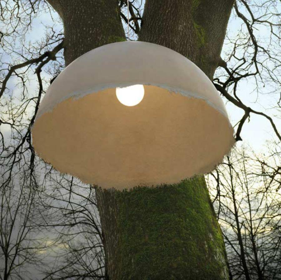 LAMPA WISZĄCA PLANCTON SZARA 75 CM OUTDOOR KARMAN