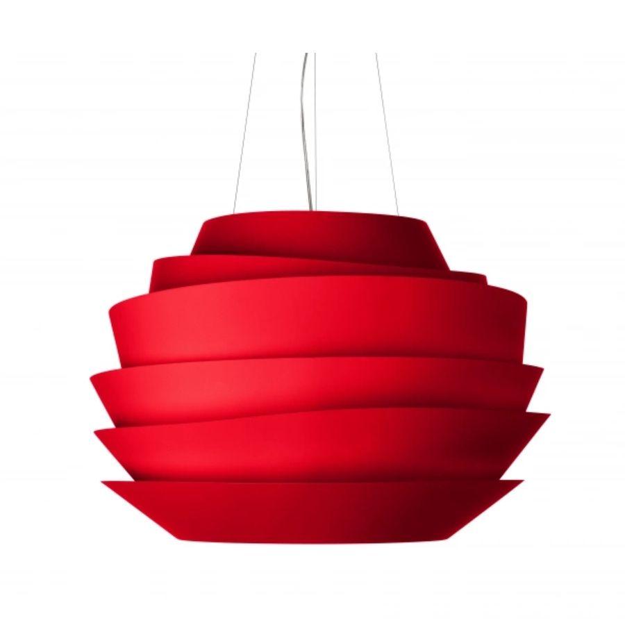 LAMPA WISZĄCA LE SOLEIL czerwona FOSCARINI