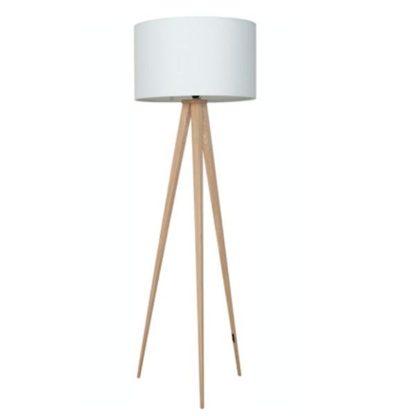 Lampa Podłogowa Heavy Wood White Nowoczesne Meble Design