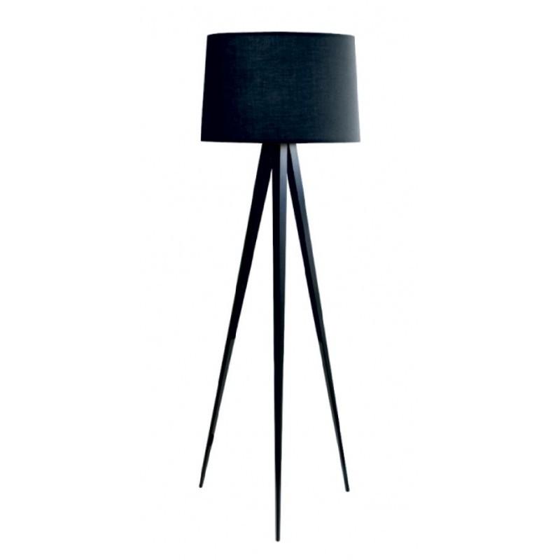 Lampa Podłogowa Heavy Black Nowoczesne Meble Design Włoskie Meble