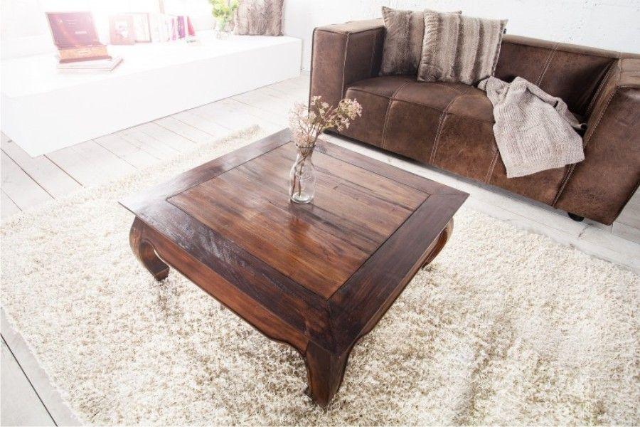 Stolik Kawowy Z Drewna Mahoniowego Fimi Medium Design