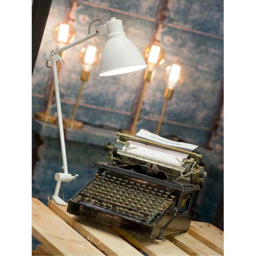 LAMPA STOŁOWA DERBY BIAŁA ITS ABOUT ROMI