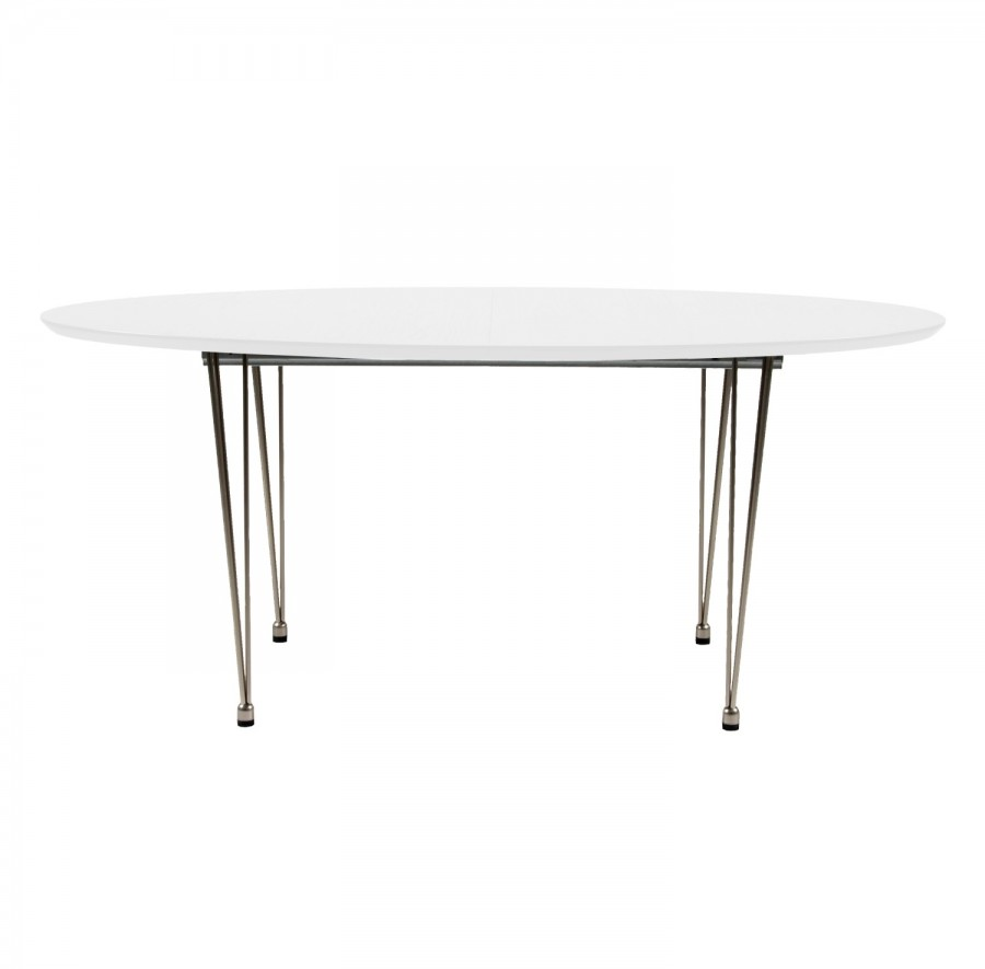 GLOBE DINING TABLE WHITE
