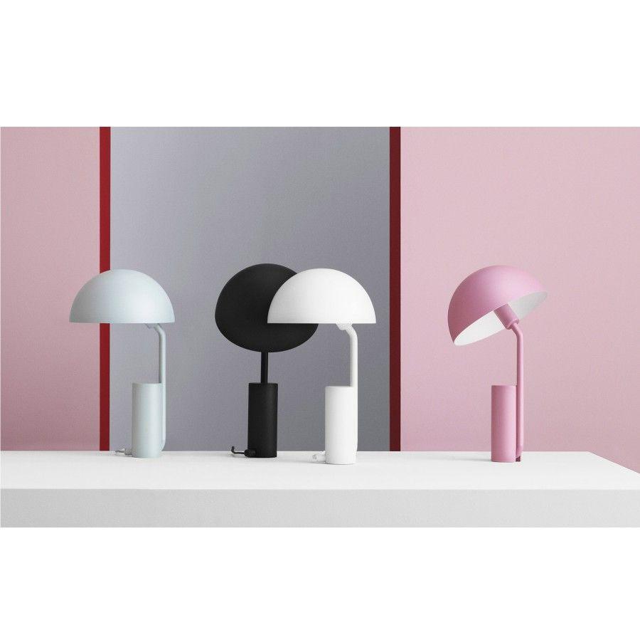 LAMPA STOŁOWA CAP BŁĘKITNA NORMANN COPENHAGEN