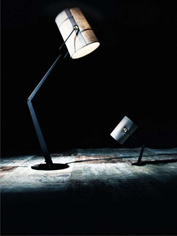 LAMPA POD£OGOWA FORK KO¦Æ S£ONIOWA Z BR¡ZOW¡ PODSTAW¡ DIESEL&FOSCARINI