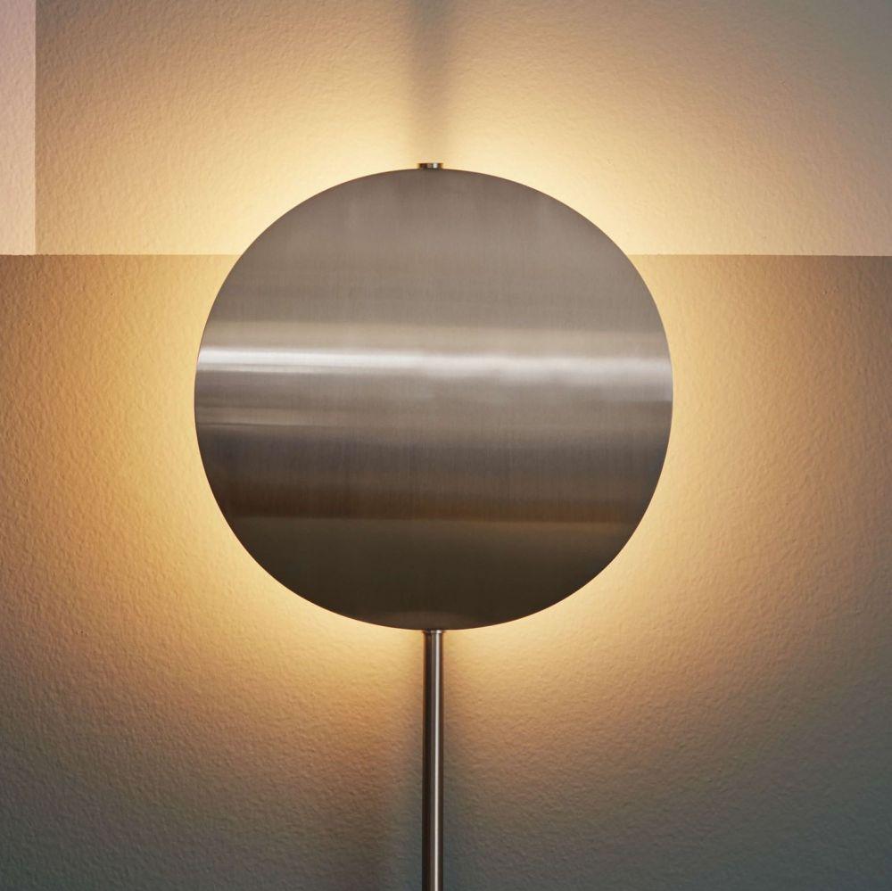 lampa podłogowa Callas wysoka srebrna Bolia