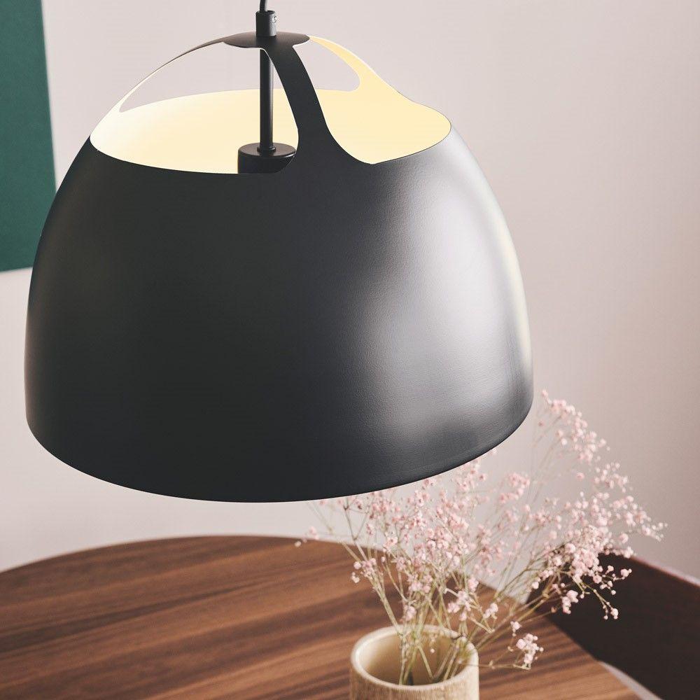 LAMPA WISZĄCA GILMORE 38 CM CZARNA