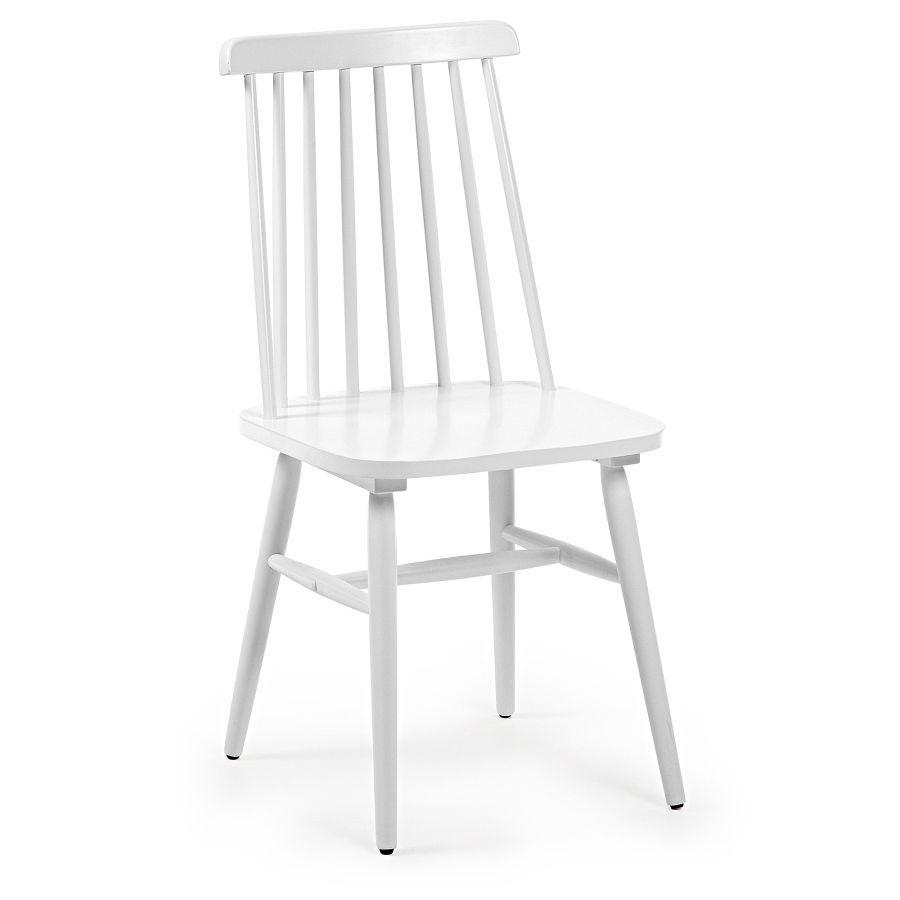 Krzesło Vintage Białe Nowoczesne Meble Design Salon