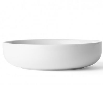 NEW NORM BOWL 13,5 CM LOW WHITE MENU