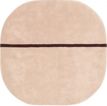 DYWAN OONA RÓ¯OWY 140X140 CM NORMANN COPENHAGEN