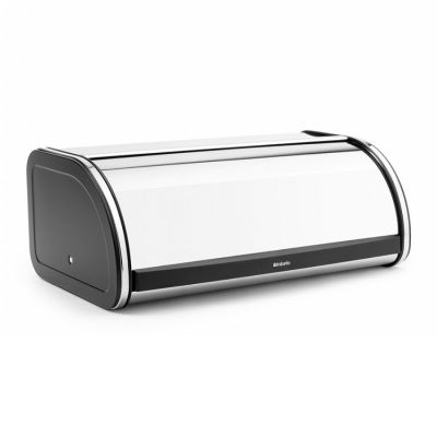 BAKERY COOKER ROLL TOP LARGE STAINLESS STEEL-BLACK BRABANTIA