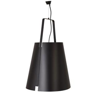 LAMPA WISZ¡CA LEAF L BLACK