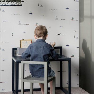 BIURKO LITTLE ARCHITECT CIEMNOZIELONE FERM LIVING