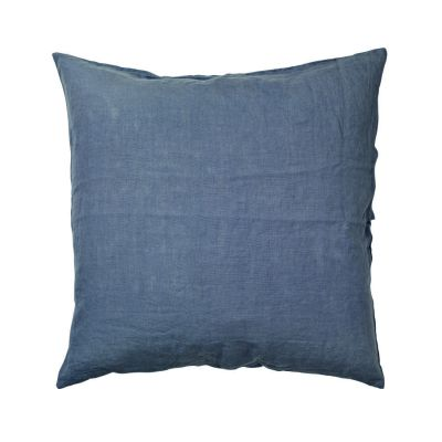 DECORATIVE PILLOW LINEN 60X60 CM STONE BLUE BROSTE COPENHAGEN