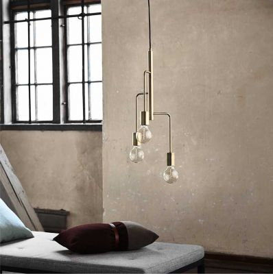 LAMPA WISZĄCA COOL BRASS FRANDSEN