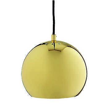 LAMPA WISZĄCA BALL MOSIĄDZ WYSOKI POŁYSK 18 CM FRANDSEN