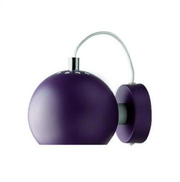 LAMPA ¦CIENNA BALL PURPUROWY MAT FRANDSEN