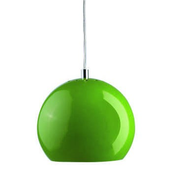 LAMPA WISZ¡CA BALL ZIELONA WYSOKI PO£YSK 18 CM FRANDSEN