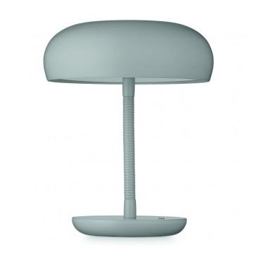 BEND LIGHT GREY TABLE LAMP WATT A LAMP