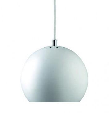 LAMPA WISZ¡CA BALL MAT WHITE FRANDSEN