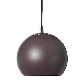 LAMPA WISZ¡CA BALL CIEMNY TURKUS MATOWA 18 CM FRANDSEN