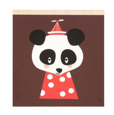 DEKORACJA ¦CIENNA POSEY PANDA FERM LIVING