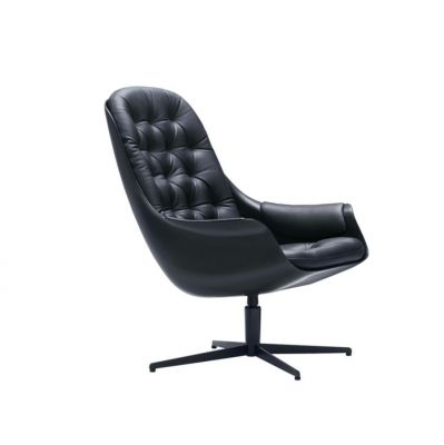 FOTEL BLACKBIRD BLACK SITS