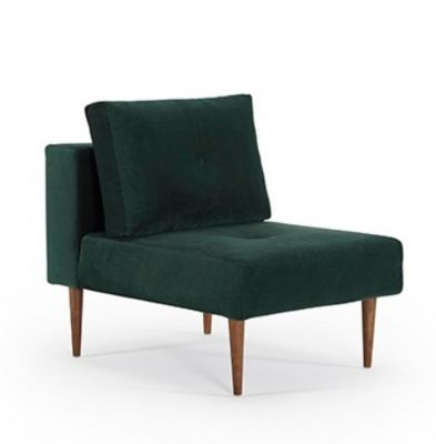 FOTEL RECAST Velvet Forest Green INNOVATION