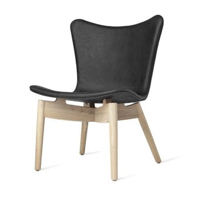 SHELL ANTHRACITE-NATURAL ARMCHAIR MATER