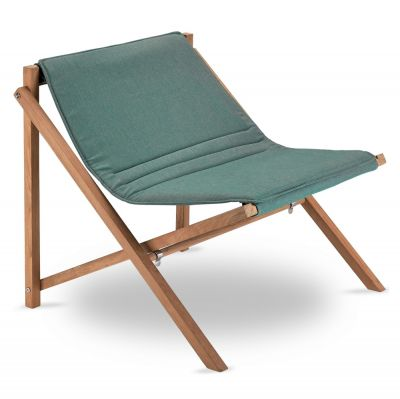 Aito Lounge Chair green Skagerak