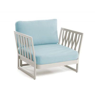Fotel ogrodowy Sue niebieski