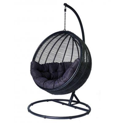 Fotel wisz±cy Cocoon de lux czarny