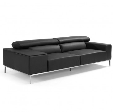 SOFA SAKAL 3-SEATER BLACK