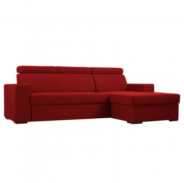 SOFA TOLEDO RIGHT STRAWBERRY RED Z FUNKCJ¡ SPANIA