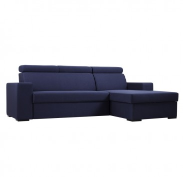 SOFA TOLEDO RIGHT NAVY-BLUE Z FUNKCJ¡ SPANIA
