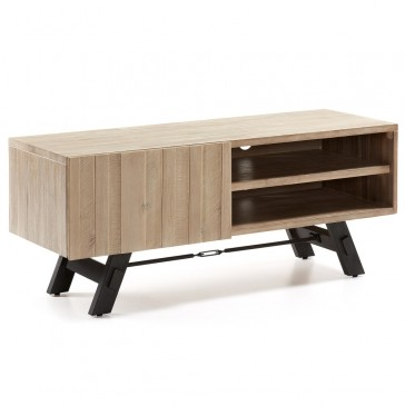 TV TABLE POCONO WOOD ACACIA NATURAL